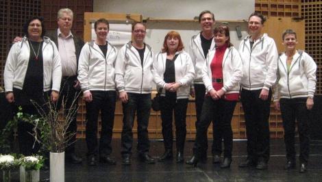 Gänget som arrangerade den första Tankens dag i Bomhus Folkets Hus, Gävle.
