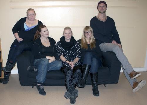 Elin Nilsson, Josefin Fridlund, Matilda Adolfsson, Maria Sandberg och Niklas Sandvold