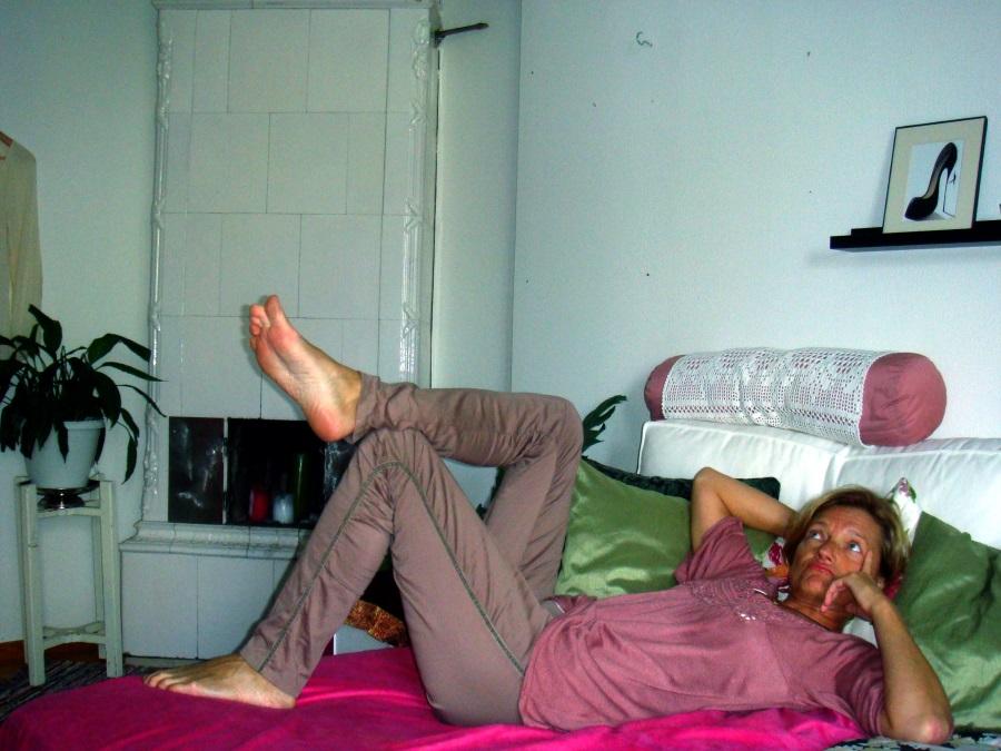Marina Gyllander ligger i