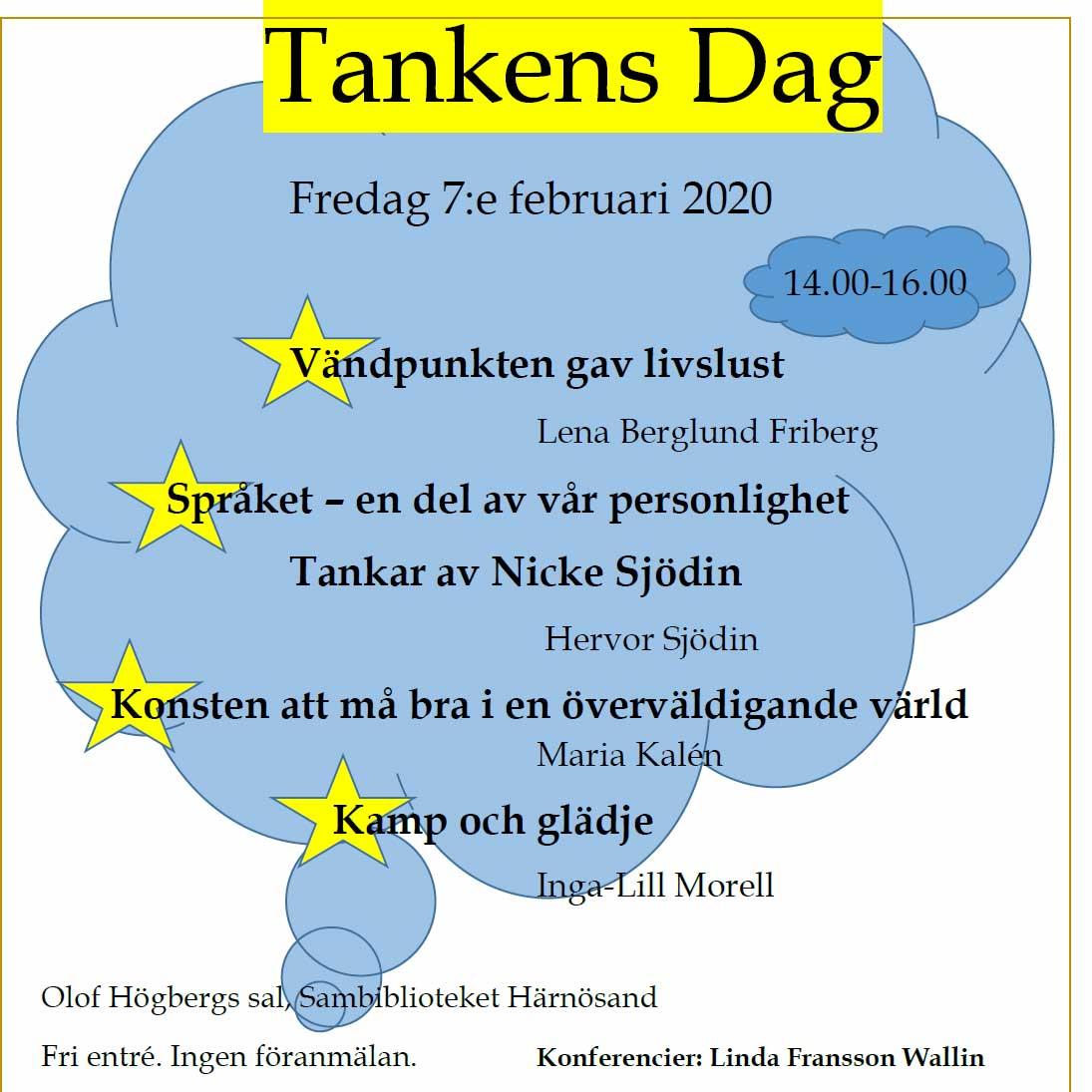 Tankens dag 2020 i Härnösand